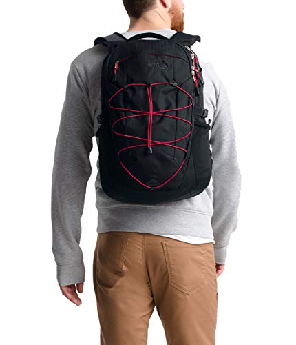 The North Face Borealis, TNF Black Light Directional Heather/TNF Red, ()