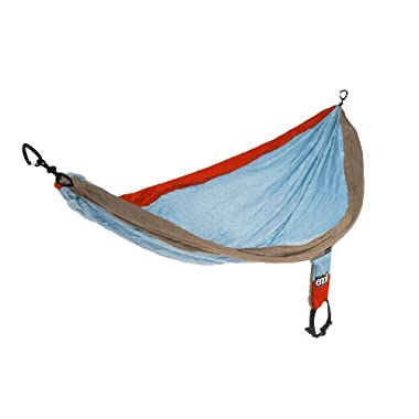 Eagles Nest Outfitters - SingleNest Hammock, Powder/Orange/Tan (FFP)