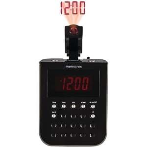 memorex projection alarm clock radio home audio theater. Black Bedroom Furniture Sets. Home Design Ideas