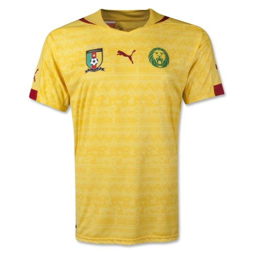 Maglietta da uomo Camerun Away Replica Dandelion T-Shirt MD