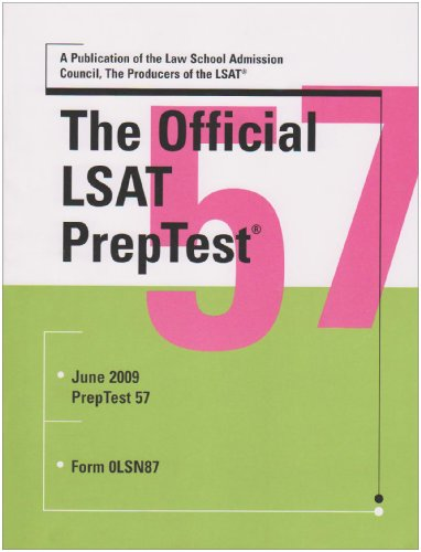 Official LSAT Preptest 57