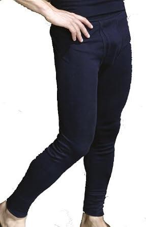 Weitere Farben HERMKO 3540 Herren Lange Unterhosen mit Eingriff 3er Pack