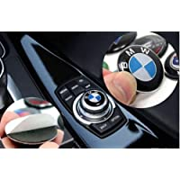 for BMW Accessory 29 mm BMW Multimedia Control Badge Alloy Sticker for BMW M 1 3 5 x1 x3 x5 x6 GT