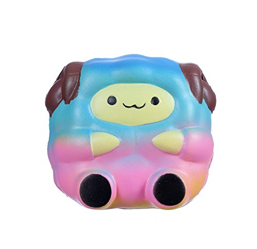 Ailimy Squishies Slow Rising Kawaii Scented Soft Jumbo Sheep Squeeze Toys Children Simulation Cute Sheep Toys