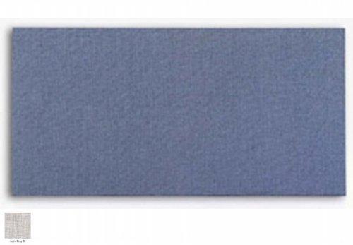 (Light Gray Burlap Squared Corner Bulletin Board w Wrapped Edge (42 in. x 60 in.))