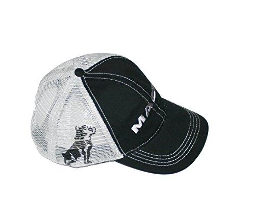 Mack Trucks Black & Grey Bulldog Snapback Mesh Cap -