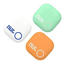 TaoFilm Pro Smart Tag Nut 2 Bluetooth Two-Way Anti Lost Tracker Tracking Wallet Key Tracer Finder Alarm Patch GPS Locator Finder for iOS | iPhone | iPod | iPad | Android (Three Colors 3 in 1)