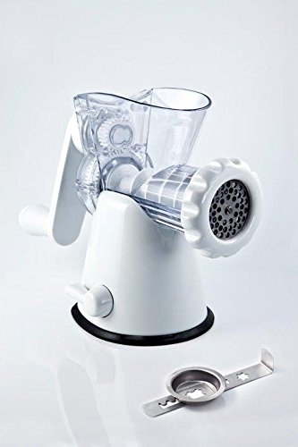 Manual Meat Mincer Grinder & Vegetable Shredder, Biscuit Machine Cookie Maker ()
