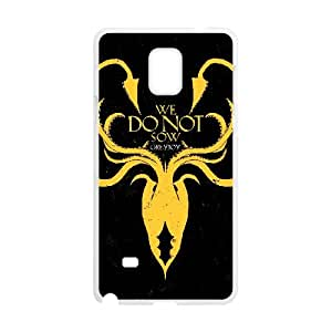 lanister logo games of thrones logo Samsung Galaxy Note 4 Cell Phone Case White xlb-065441