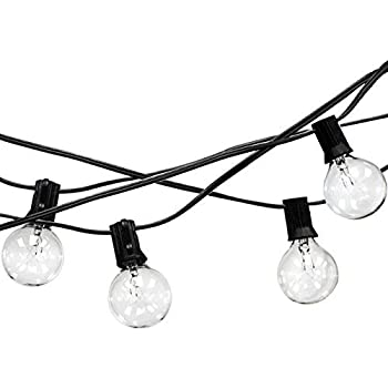 Amazon Com Led Concepts Outdoor String Lights 25 Ft