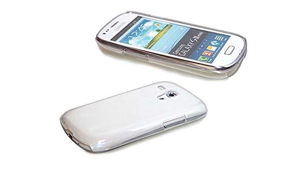 Funda Samsung Galaxy S3 Mini i8190 Backcover, Protección contra choques para el Smartphone (Funda Carcasa en Transparente): Amazon.es: Electrónica