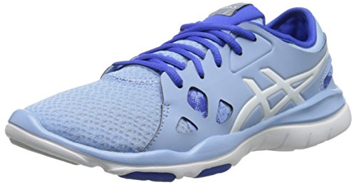 Asics Women's Gel Fit Nova 2 Fitness Shoe Blue Bell/White/Blue Purple