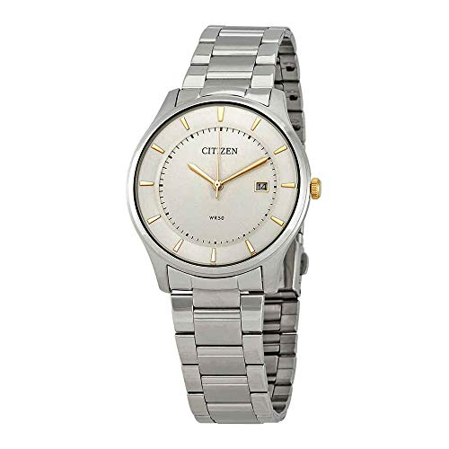 Citizen Quartz White Dial Mens Watch BD0041-54B