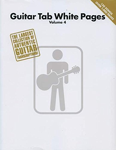 Iv Guitar Tab Songbook - Guitar Tab White Pages Volume 4