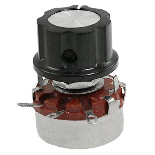 19 6 mm Split Shaft Wirewound Rotary Pots Potentiometer, 3.3K Ohm 2W ()