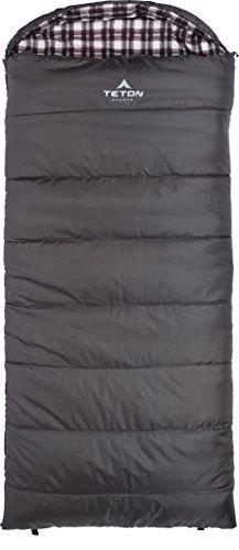 Sports Fahrenheit Regular 0F Sleeping Bag, Grey, Left Zip