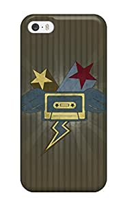 Forever Collectibles Cassette Hard Snap-on Iphone 5/5s Case