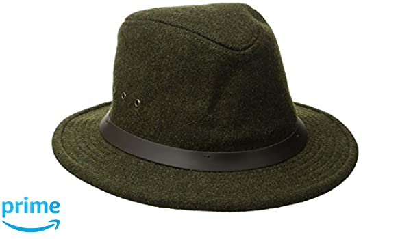 fc8b4ac4199f9 Amazon.com  Filson Unisex Wool Packer Hat Forest Green SM  Sports   Outdoors
