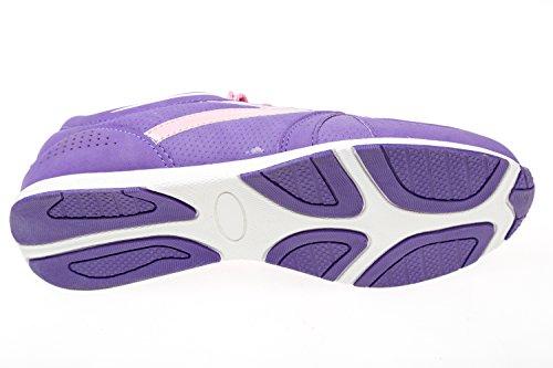 gibra mujer Zapatillas para Material de morado Sintético Morado qzqxrX6