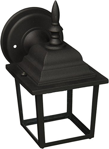 Designers Fountain 2861-BK Value Collection Wall Lanterns, Black by Designers Fountain