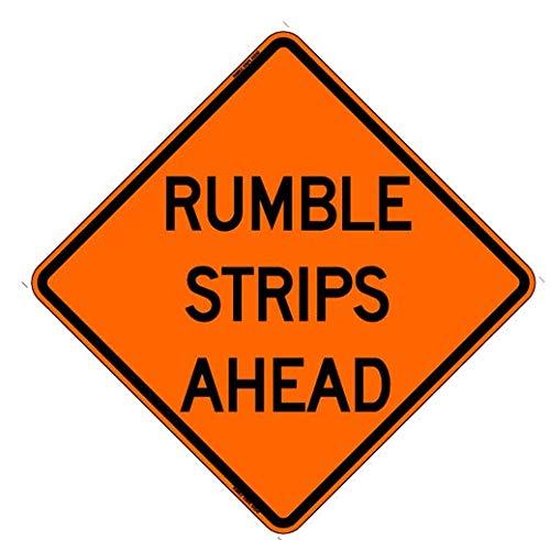 Rumble Strips Ahead 36