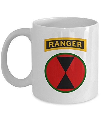 Infantry Division Coffee Mug (7th Infantry Division Coffee Mug - 7th ID Ranger Tab)