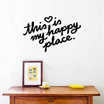 Amazon Com Evelyndavid Vinyl Wall Art Inspirational Quotes And