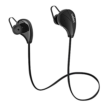 AELEC S350 Bluetooth Headphones Wireless In-Ear Sports Earbuds Sweatproof Earphones Noise Cancelling Headsets with Mic for Running Jogging