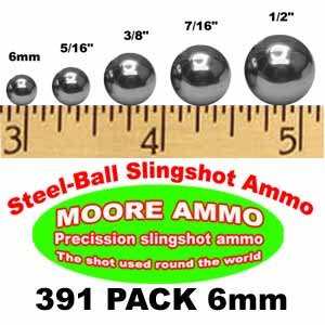 all slingshot ammo BBs Pellets (12 oz) (Steel Shot Balls)