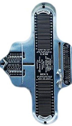 Brannock Foot Measure Tools Mens Sizes Metal Silver 04028 by Brannock (Image #1)