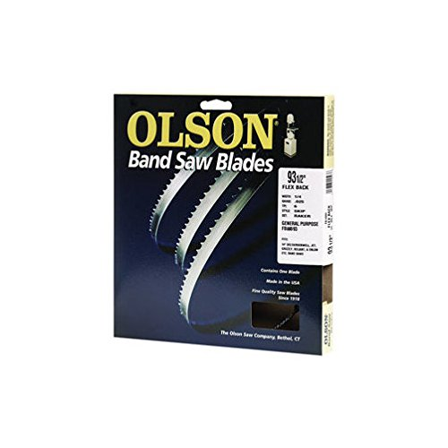 - Olson Band Saw Blade Hard Edge 93-1/2