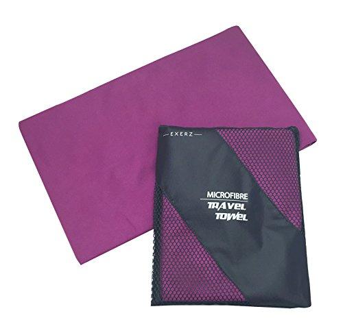 Exerz Microfibre Extra Large XL Travel Towel / Sports Towel (150 x 85 cm)...