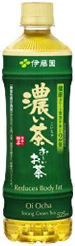 伊藤園 お~いお茶 濃い茶【手売り用】 525mlペットボトル×24本入×(2ケース)