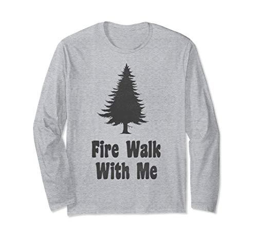 Twin Peaks Fire Walk With Me Tree Cutout Long Sleeve Tee (Twin Peaks Fire Walk With Me Ost)