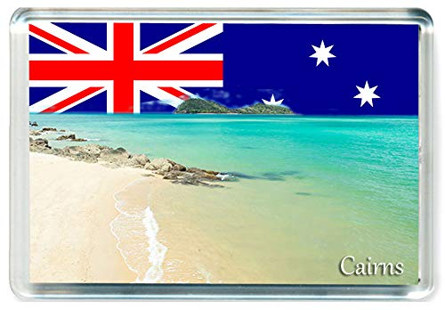 GCT J292 Cairns Jumbo Aimant pour Le Frigo Australie Australia Travel Fridge Magnet