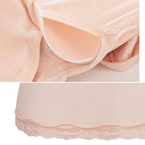 Zhhlinyuan Ladies Shaper Thin Underwear Corset Tops Workout Shaper Tummy Comfortable Thermal Build Decent Warm Vest Nude
