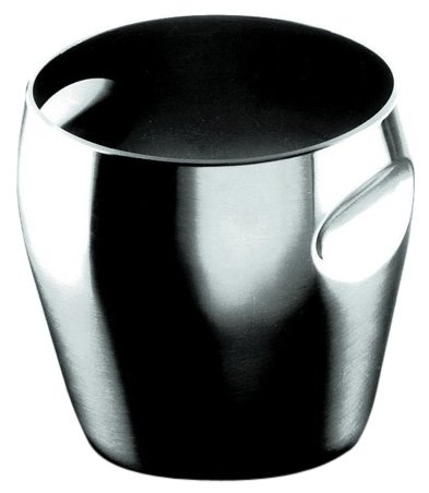 Alessi 4-3/4-Inch Ice Bucket, Matte Finish by Alessi