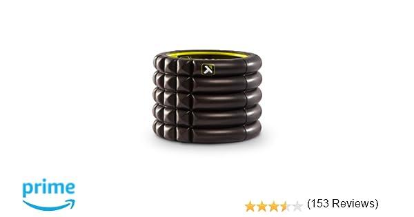 TriggerPoint Grid Foam Roller, Mini (4-inch), Black