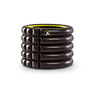 TriggerPoint Grid Foam Roller with Free Online Instructional Videos, Mini (4-inch), Black