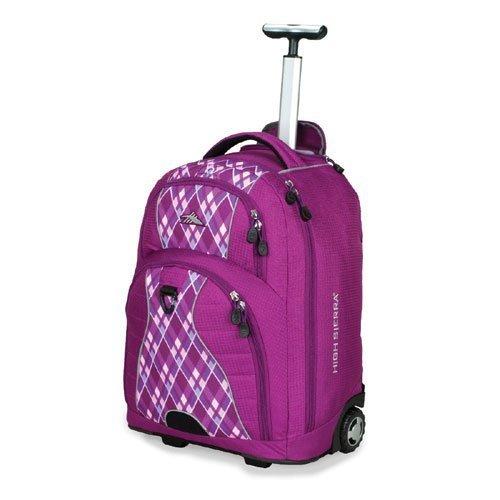 High Sierra Freewheel Wheeled Laptop Backpack