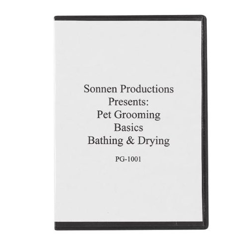 Sonnen Productions Pet Grooming DVD, Basic Bathing and Drying by Sonnen Productions