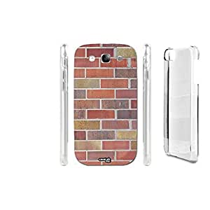 FUNDA CARCASA MURO WALL RED PARA SAMSUNG GALAXY S3 I9300