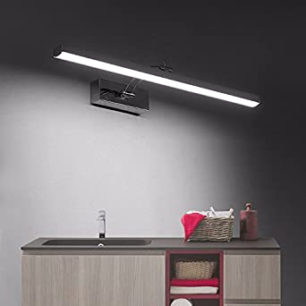 Badewanne Spiegel Lampen, modernen, minimalistischen Leuchten ...