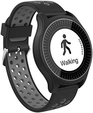 Wee'Plug Explorer II-Grey - Reloj Inteligente para Adultos, Unisex, Color Gris
