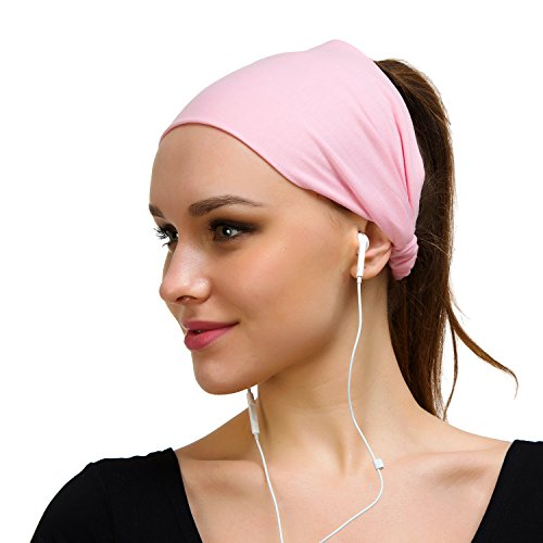 Better Line Bondi Band Hairband for Women and Men - Stretchable, Breathable Headband - Wicks Away Sweat - 2 Chainz Style