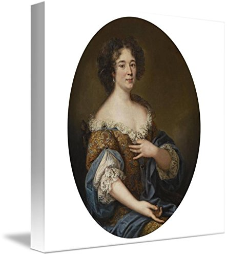 Wall Art Print Entitled Circle of Pierre Mignard Portrait of A Lady, POSSI by Celestial Images | 8 x ()