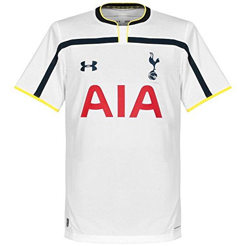 62dcb14e6f1 Under Armour Tottenham Hotspur FC Home Youth Short Sleeve Jersey 2014 15  (WHT CAD CAD)