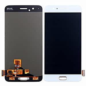 HYYT For One Plus 5 LCD Digitizer Screen Replacement LCD Display and Touch Screen Assembly (White)