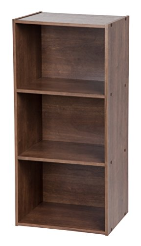 IRIS 3-Tier Storage Shelf, Dark Brown