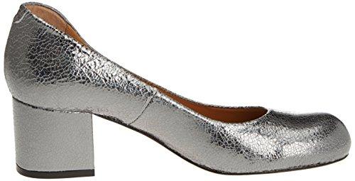 Audley Damen 19489 Geschlossene Schuhe mit Absatz Silber